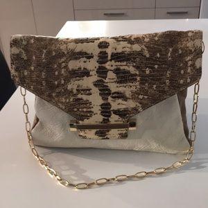 Vince Camuto clutch purse genuine leather